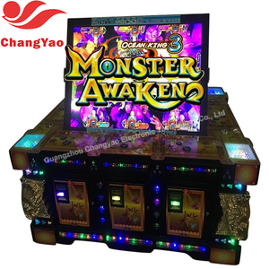 Hot Selling Fishing Season Slot Machine Jammer Catcher Toys Game Table  Manufacturer