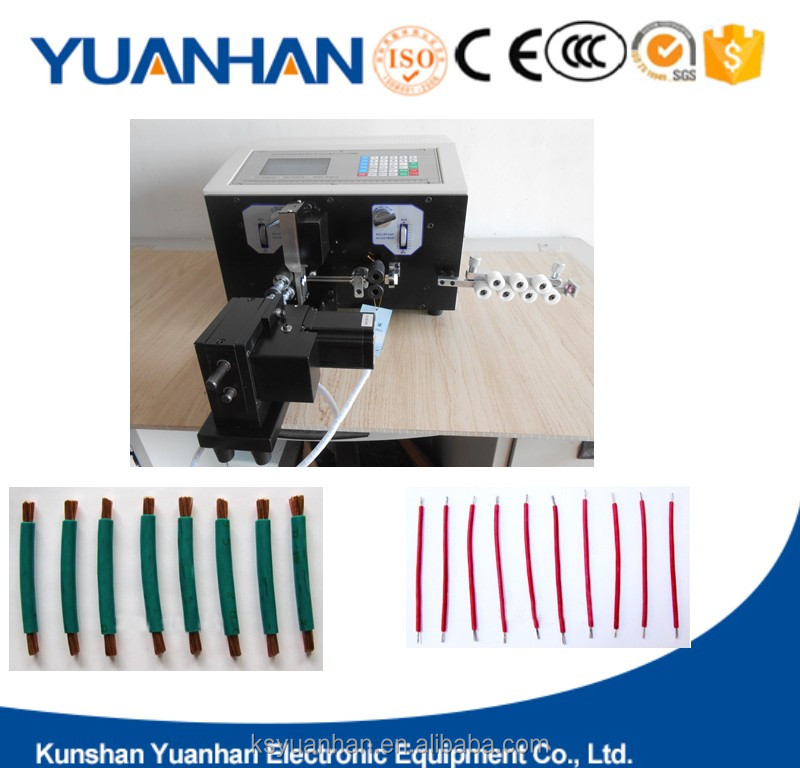 Wire insulation stripper automatic cable wire cutting machine stripping copper wire