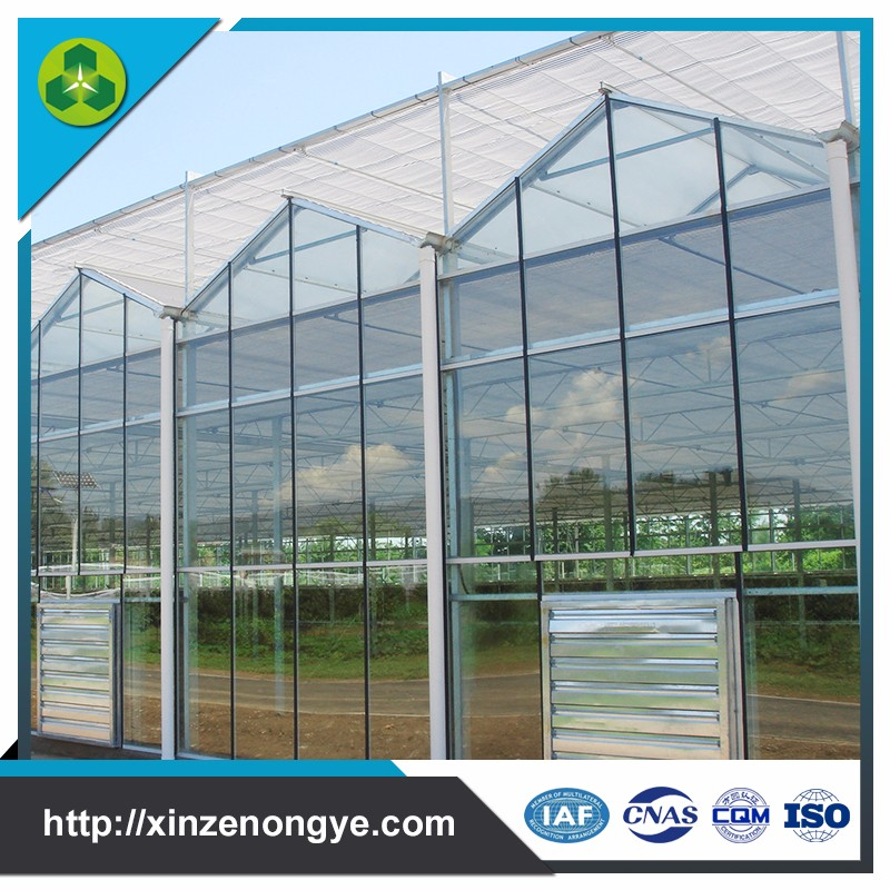 light deprivation motor outdoor glass greenhouse sale