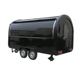 Factory hot sale stainless steel Mobile crepe churros mobile food trailer,mobile food cart with wheels