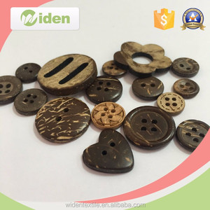 wood shirt buttons/custom wood buttons/Best Selling Wood Button