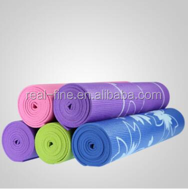 fitness products Professional manufacturer supply printing PVC yoga mat 3/4/5/6/7/8 mm yoga supplies the yoga mat made to order