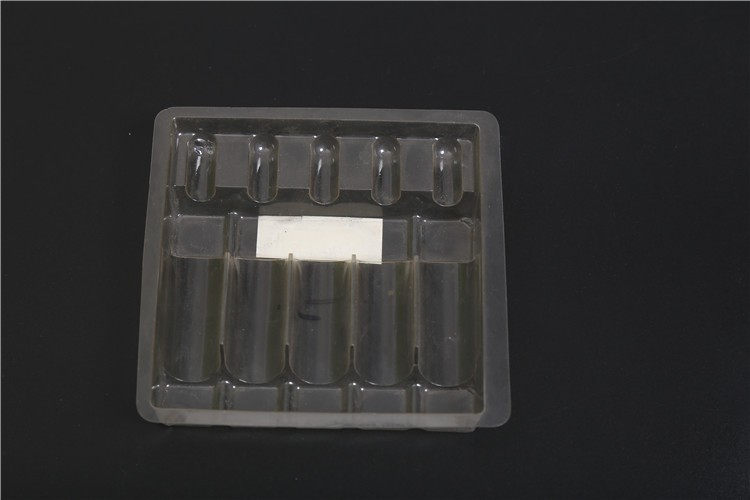 5 ml plastic ampoule medicine packaging tray