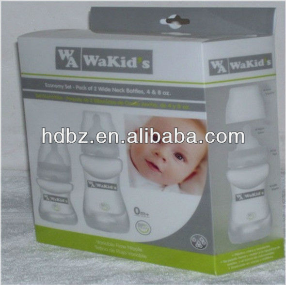 printing plastic package box/printing baby using plastic box