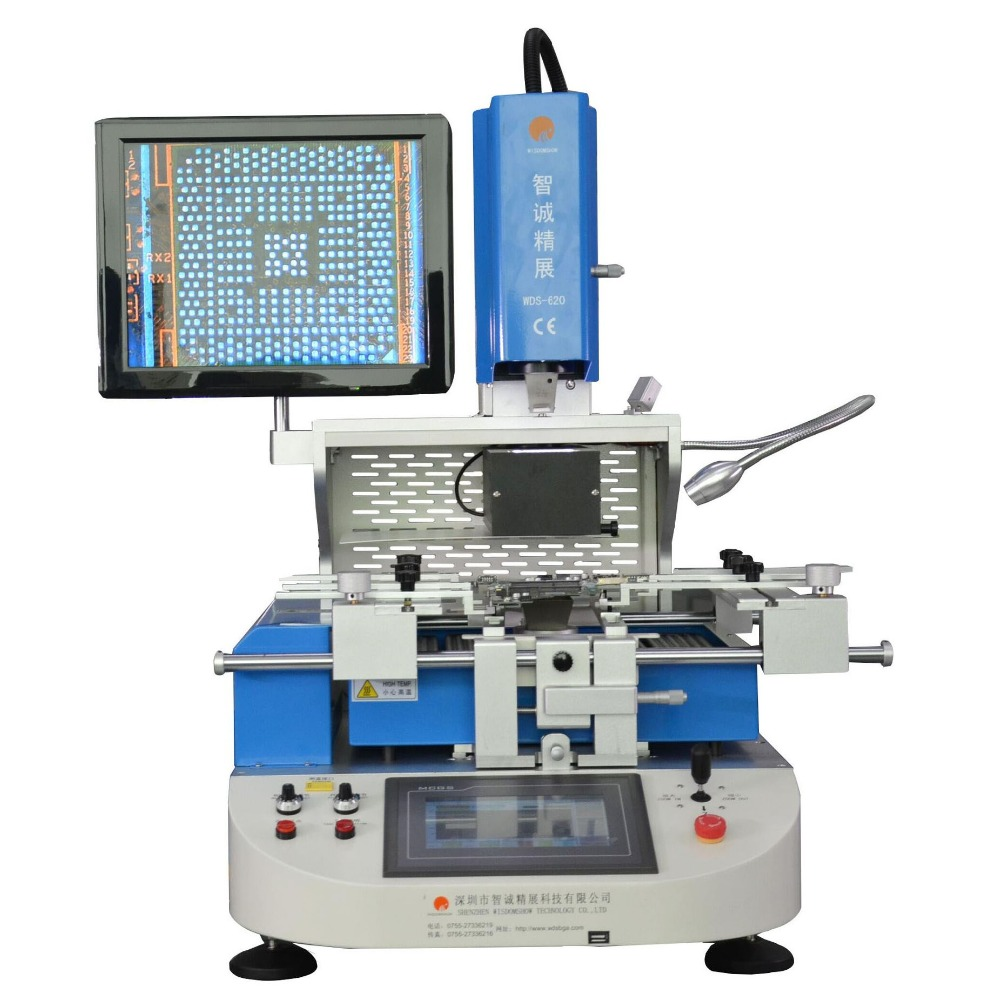 Laptop PCB IR soldering station automatic bga rework station for iphone
