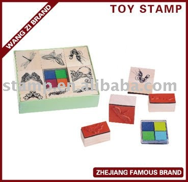 Fairy wooden Stamp Set