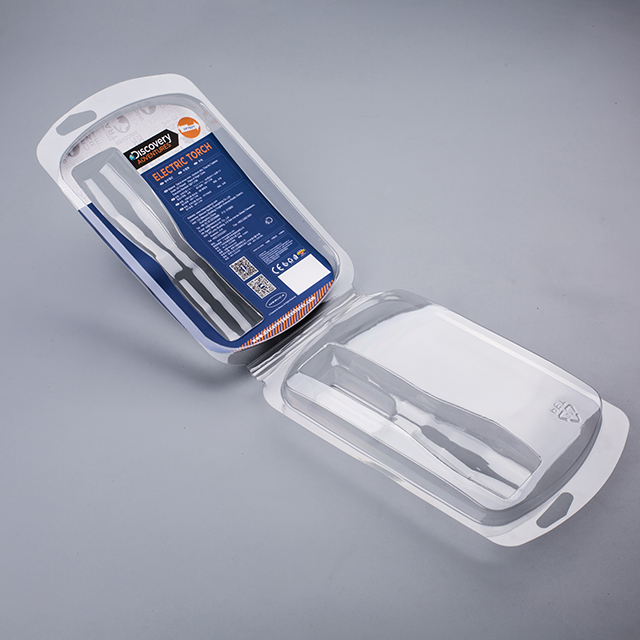 Transparent Plastic Clamshell Double Blister Packaging With Card ...