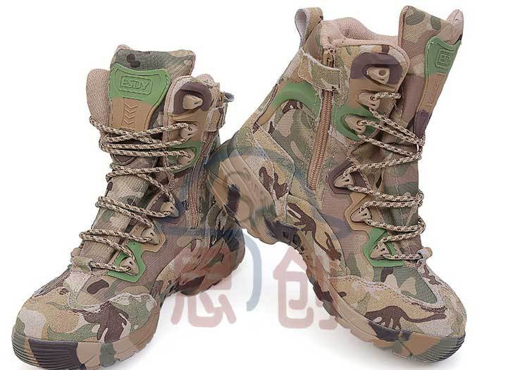 89c51ff093140 Army Camo Combat Boots Military Camo Boots Waterproof For Hunting ...