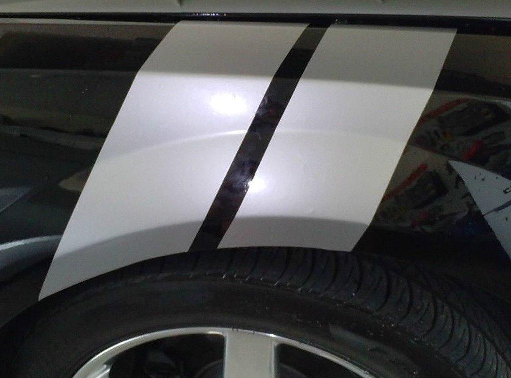 Buy Camaro Fender Hash Grand Sport Stripes Matte Black Chevy