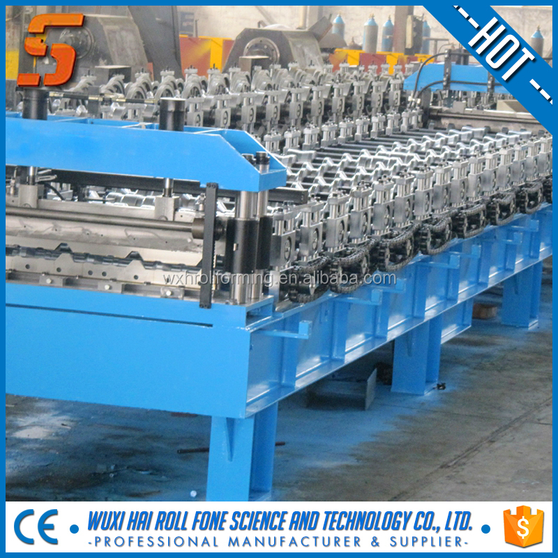 Salable roller steel profile rainwater gutter cold roll forming machine