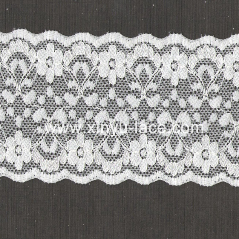 Fancy decorative strecth lace trim,Organza lace trim for table cloth and lady dress