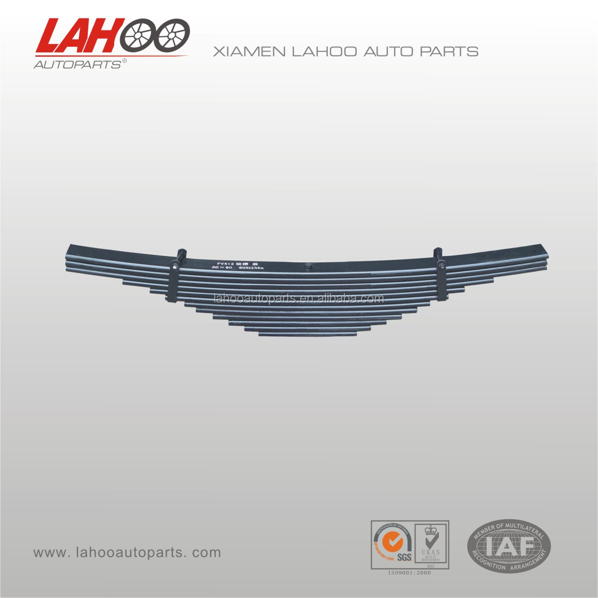 Auto car part parabolic Leaf Spring for VOLVO