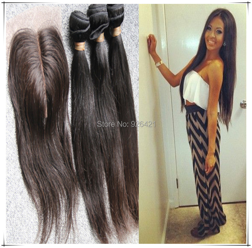Straight Weave Middle Parting Hair Color Ideas And Styles For 2018