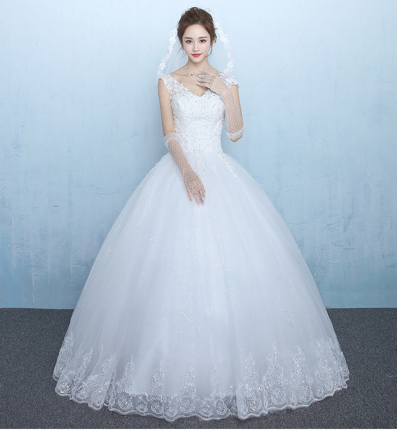 Colorful Princess Cut Wedding Dresses Collection - Wedding Dresses ...