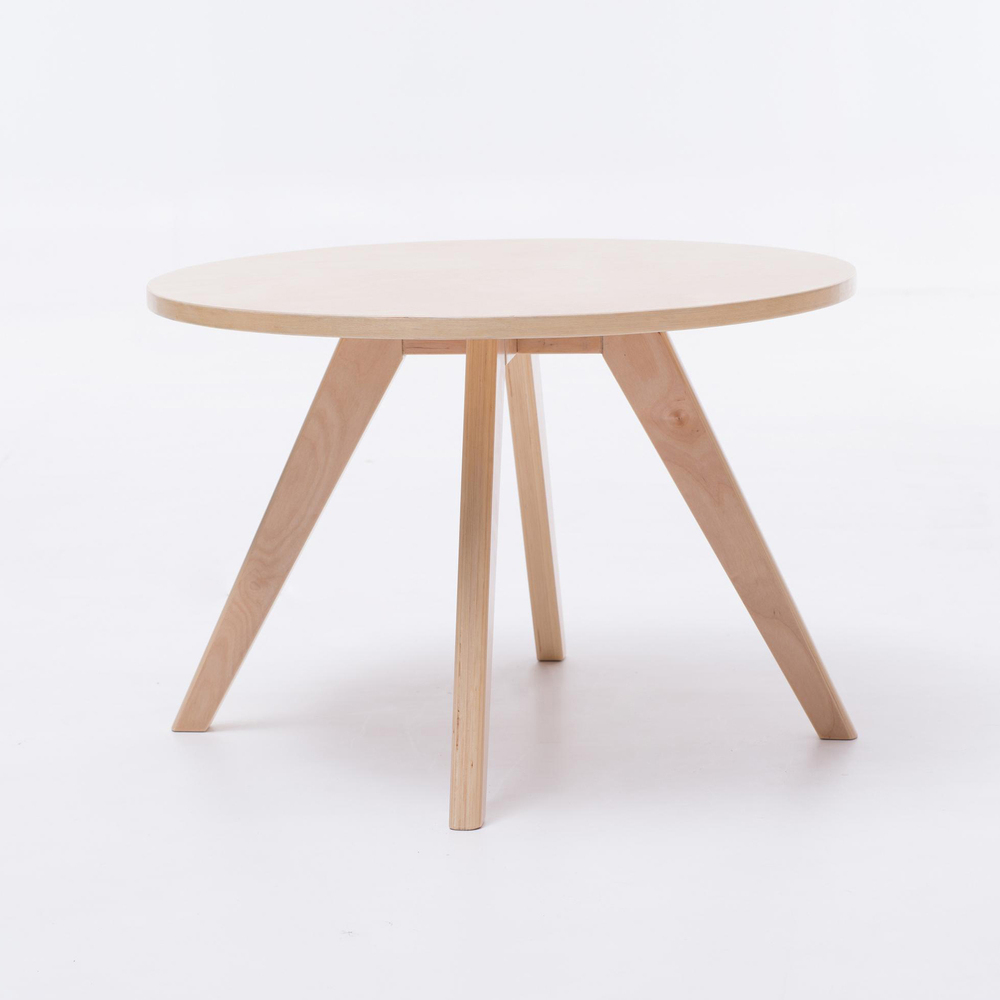 Round Coffee Table Standard Size: Top Selling Plywood Round Side Wooden Coffee Table And