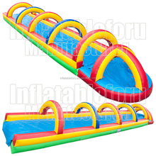 1000ft inflatable city slide/slide the city/1000 ft slip n slide inflatable slide the city