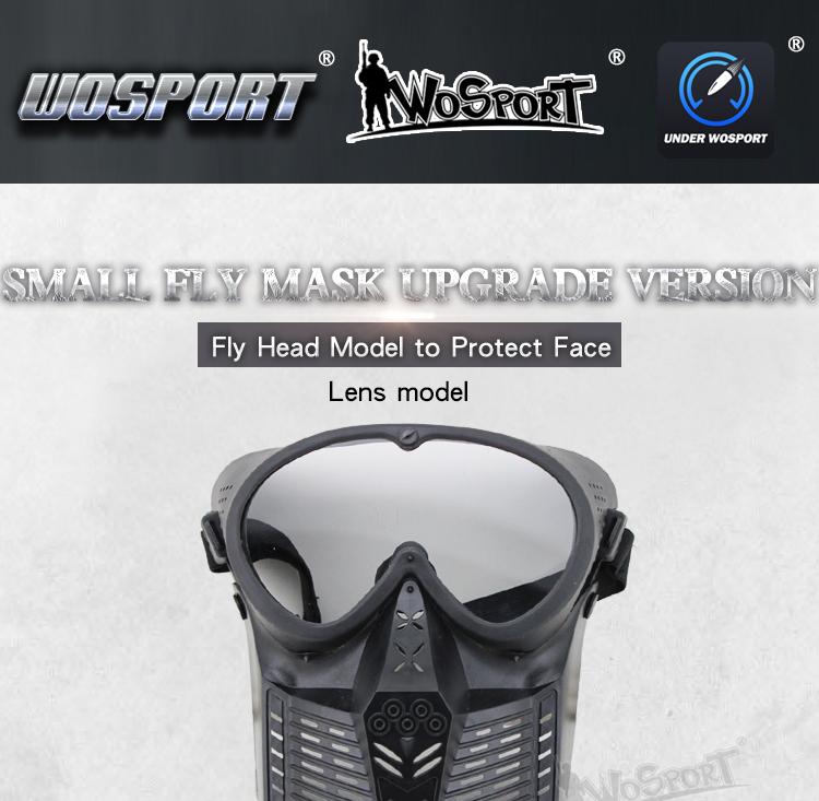 Wosport Militaire Tactique Tir Airsoft Masque Avec Pc Objectif Lunettes  Pour La Chasse Paintball Armée Sports De Combat Cs Jeux - Buy Militaire ... 20b5a766098b