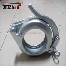 High performance snap-joint clamp coupling for Putzmeister
