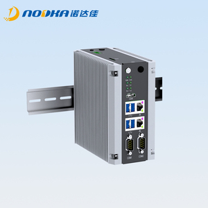 Din rail industrial computer based on Appolo Lake j3355