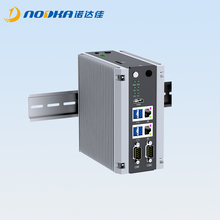 Din rail industrial computer based on Intel Appolo Lake j3355