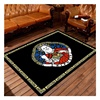 Black Fashion Cartoon Printed Non Woven Backing Door Mat For Sale