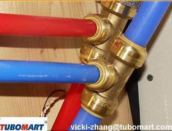 Push In Ing Quick Connect Pex For Pipe Pvc Copper