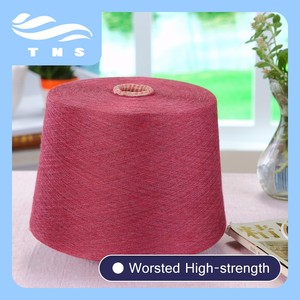 100% Combed Cotton Yarn Dyed Colored Melange Cotton Yarn for Cotton T-Shirt, Cotton Spinning Fabric, Sock