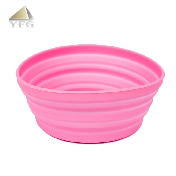 Small volume mini food grade silicone retractable cup