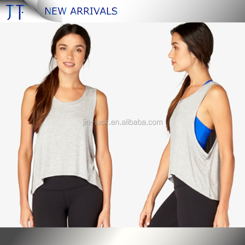 (ODM/OEM Factory) wholesale tank tops Cheap OEM manufacturer white durable top