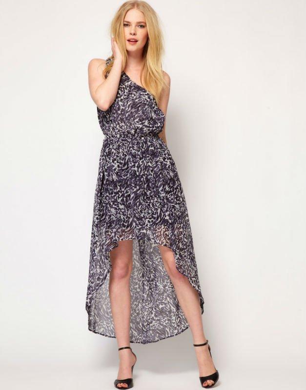 Short Front Long Back Dress Casual