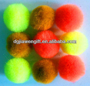 Arts and crafts accessories Assorted Color Acrylic Pom Poms