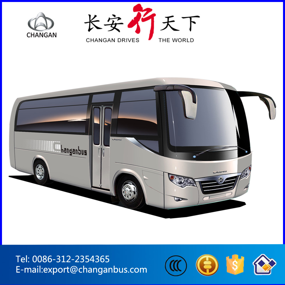 Inter-city bus 19-25 seats Changan bus Toyota coach SC6608BF in stock