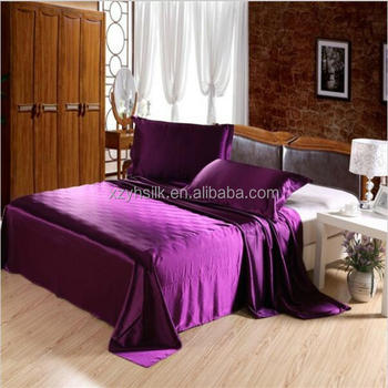 100% Mulberry Silk Bedsheets King/Queen/Full/Twin Size Silk Wedding Bed