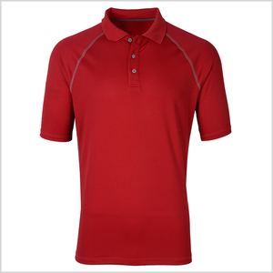Stock outdoor office work 100% polyester man polo t-shirt