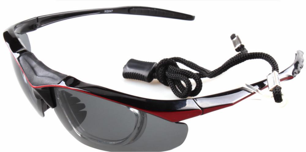 2017 Hot sell one set sports glasses best polarized sunglasses