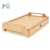 Bamboo Bed Breakfast Tray with Drawer OEM