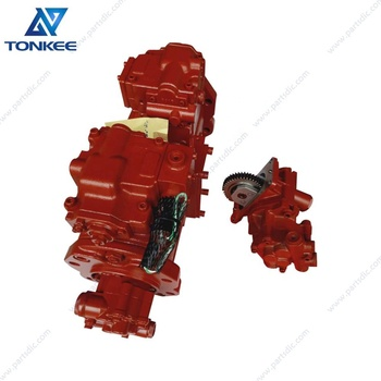 4460659 K5V80DTP-173R-9K0E K5V80DTP hydraulic main pump with PTO ZX160W ZX160 excavator piston pump