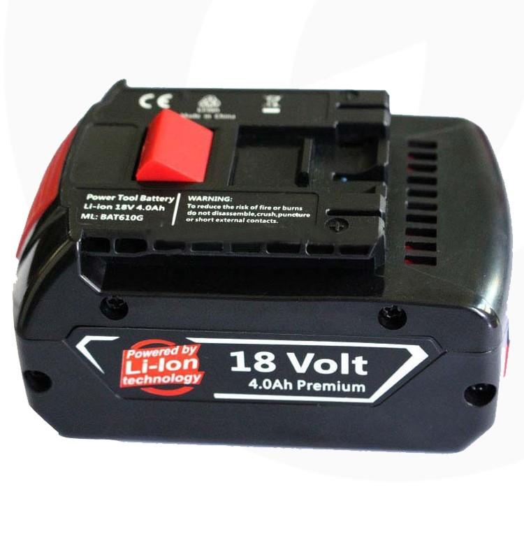 18v li ion power tool battery for bosch li ion for Avantage batterie lithium ion