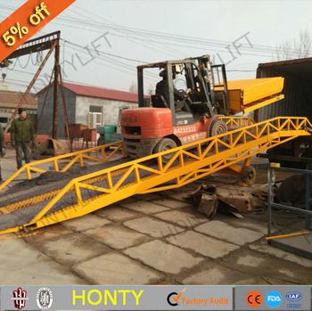 Hontylift Price Hydraulic Truck Loading Platform Mobile Livestock