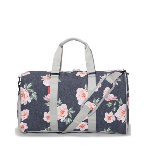 High Quality Fashion Canvas Travel Tote Luggage Women Quilted Duffel Bags