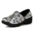 Womans Coral Slip-On Outdoor Indoor House Room Clog Mule Professional Tooled Light Walking Loafer Flat Shoes