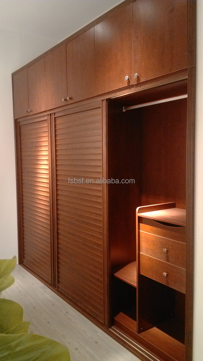 Indian bedroom wardrobe designs wooden aluminium frame Design wardrobe for bedroom