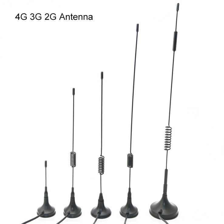 4G 3G 2G GSM GPRS Magnetic Antenna with SMA male connector 900/1800/2100/2700Mhz