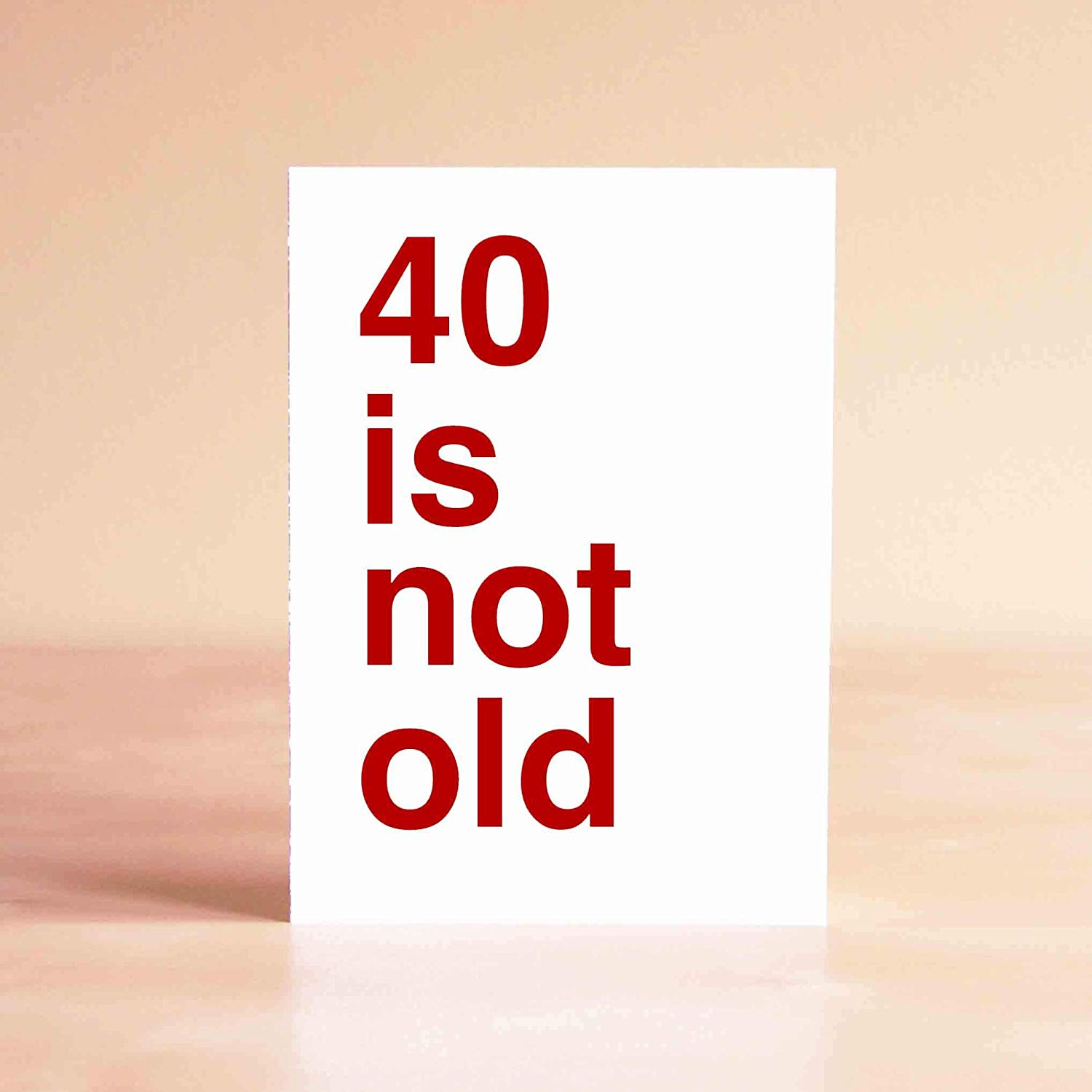 Get Quotations Funny 40th Birthday Card