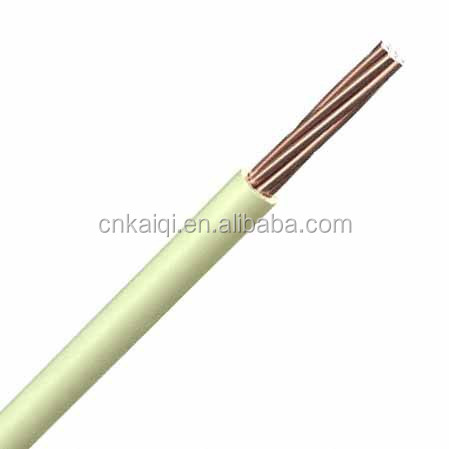 0.6/1kV, 6mm2, PVC coated Single strand Copper Electric Wire