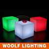 plastic led outdoor mood light cube