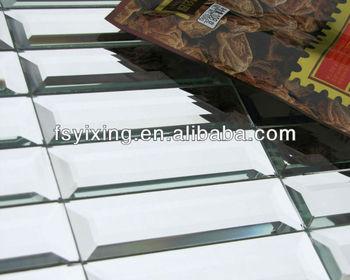 Md striscia specchio di vetro mattonelle della parete del