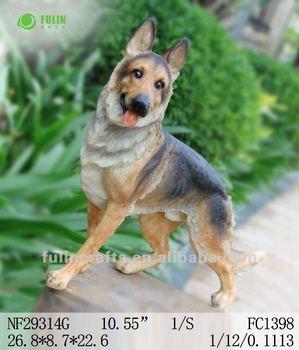 Polyresin Life Size Garden Dog Statues