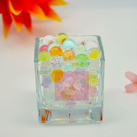 Bargain! Green shining rainbow water beads