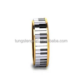 Novelty Men S Wedding Rings Piano Ring